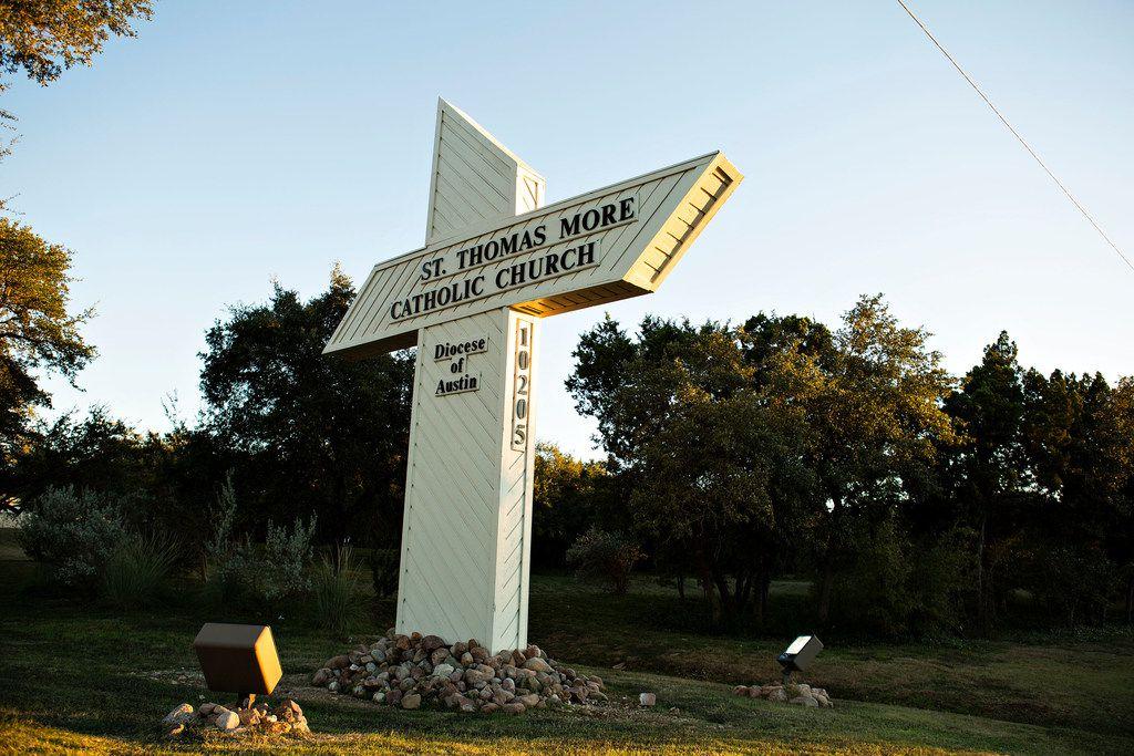 St. Thomas More Catholic Church in  Austin.