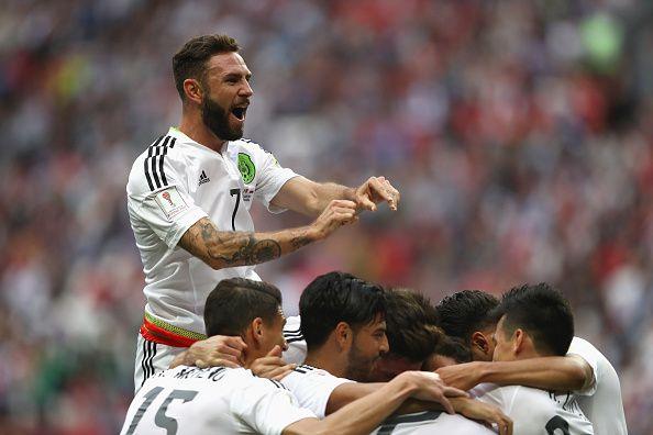El mexicano Miguel Layún estaría cerca de pasar al futbol español. Foto Getty Images