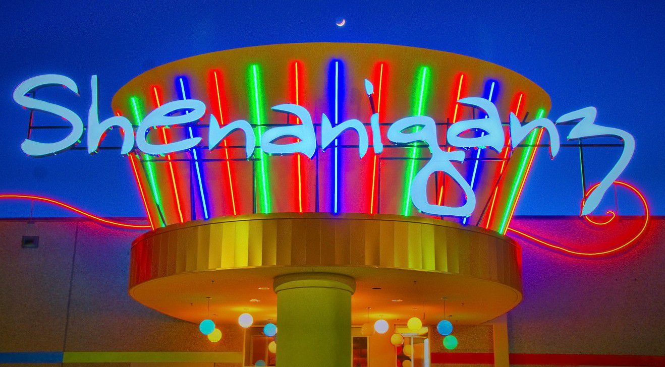 """Shenaniganz is a large """"eater-tainment"""" venue in Rockwall."""