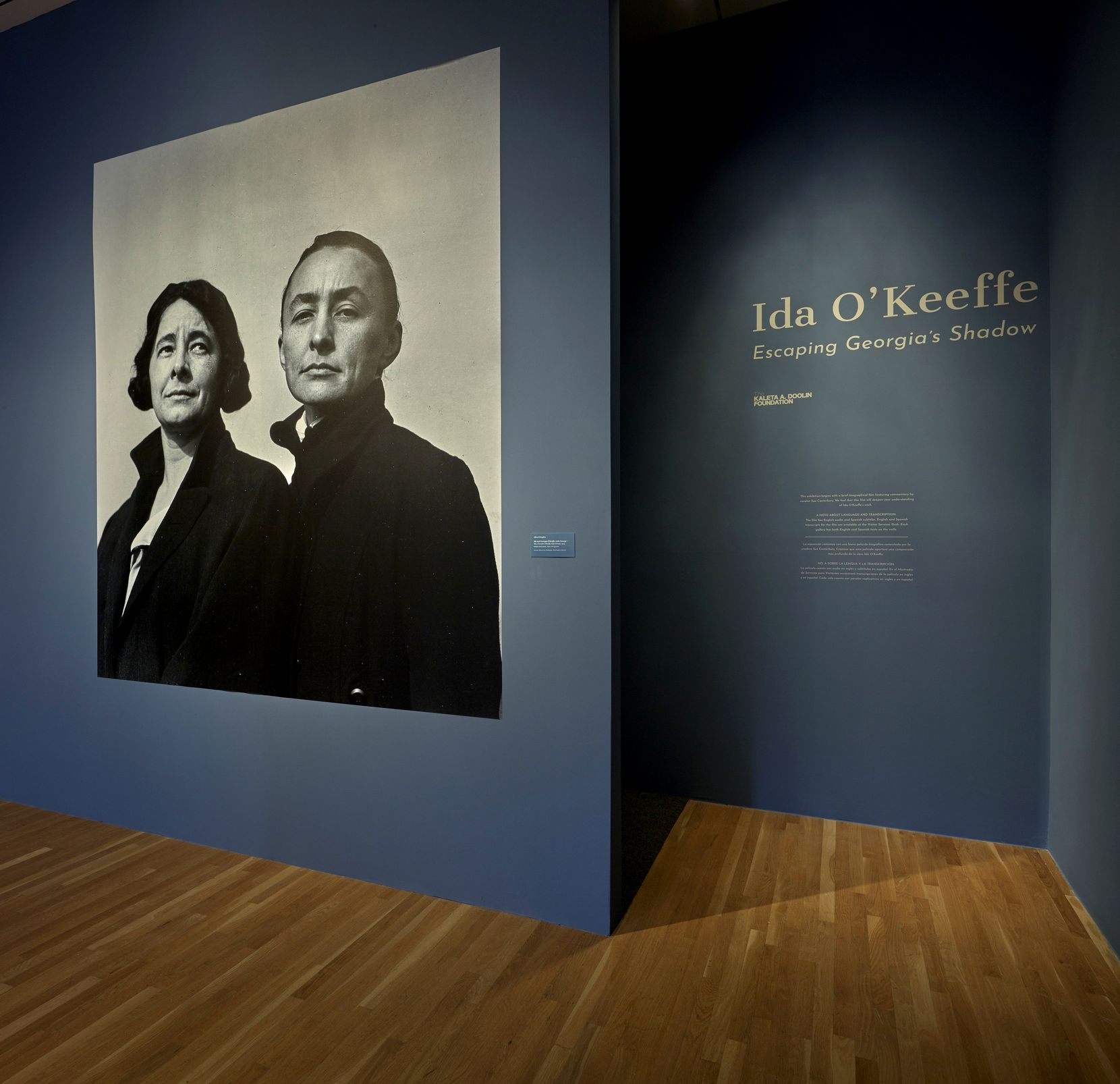 Kaleta Doolin's foundation provided crucial funding to bring a groundbreaking retrospective of Ida O'Keeffe, Georgia O'Keeffe's often overlooked younger sister, to the Dallas Museum of Art in 2018 and 2019.