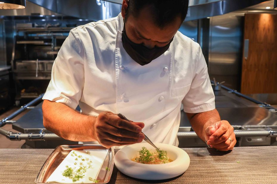 """Meridian is executive chef Nilton 'Junior' Borges' first restaurant that's solely his. """"It hasn't been easy,"""" he says of his journey as a chef. """"I came to the United States not speaking English and not having any money."""""""