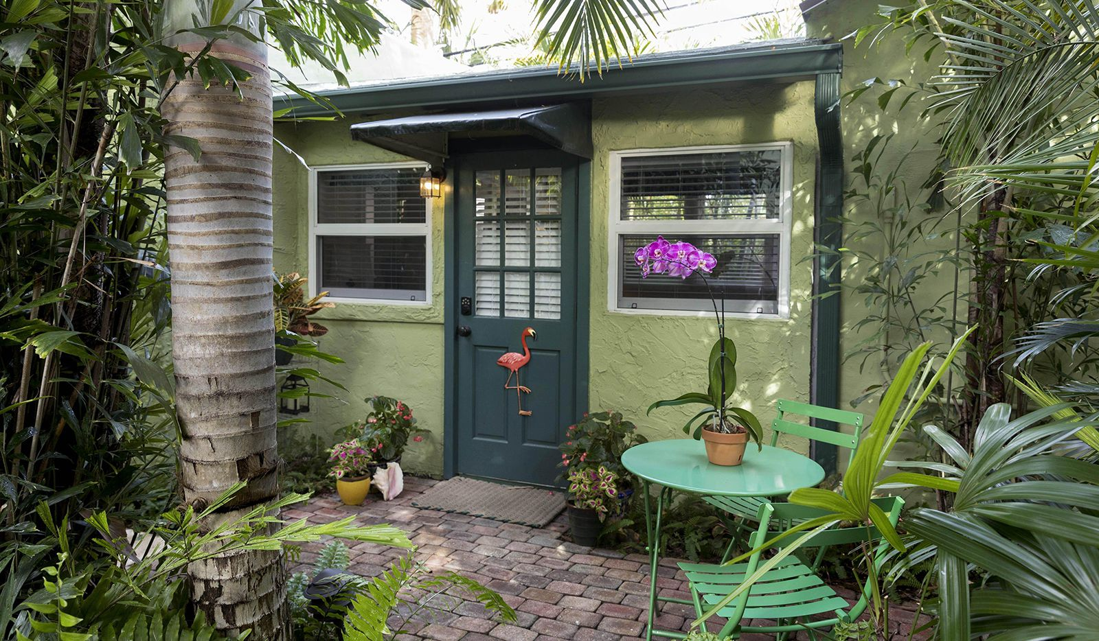 An Airbnb in the Flamingo Park neighborhood in West Palm Beach, Fla.