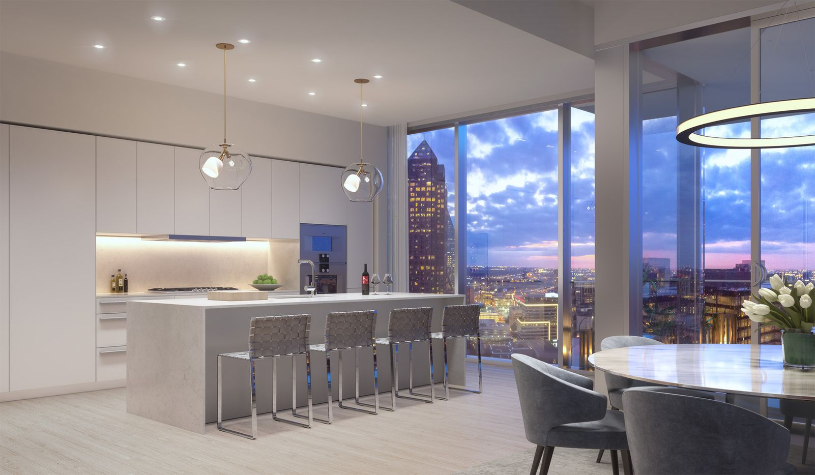 Condos in the tower start at $2 million.