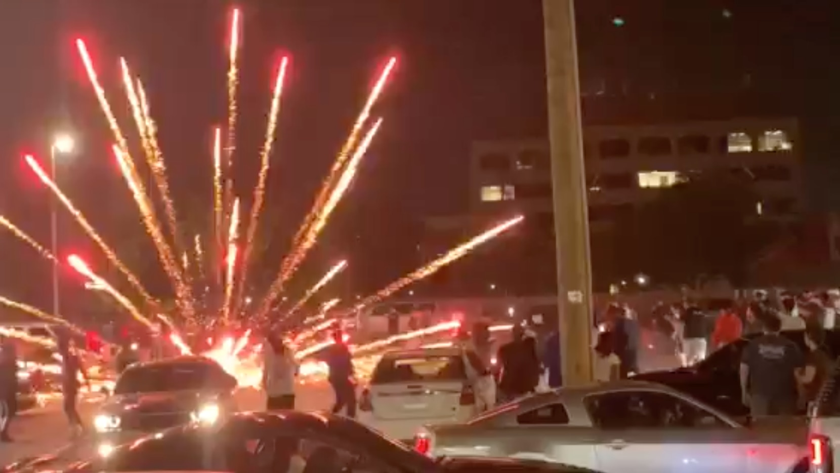 Dallas police are cracking down on street racing events which attract large crowds, drugs, guns, stolen vehicles, and in at least one case, fireworks.