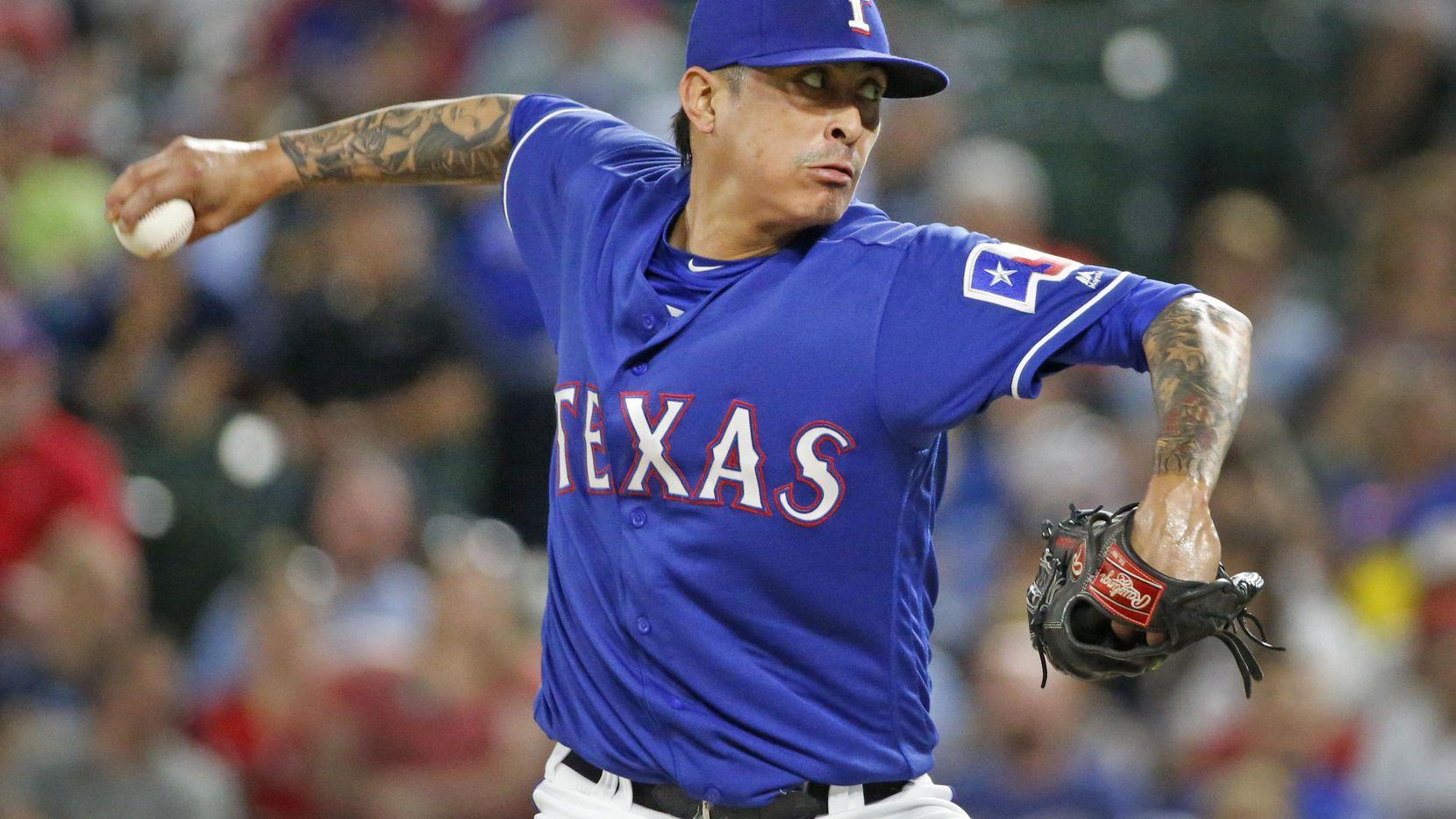 Jesse Chávez regresa con los Rangers para 2019. (DMN/Louis DeLuca)