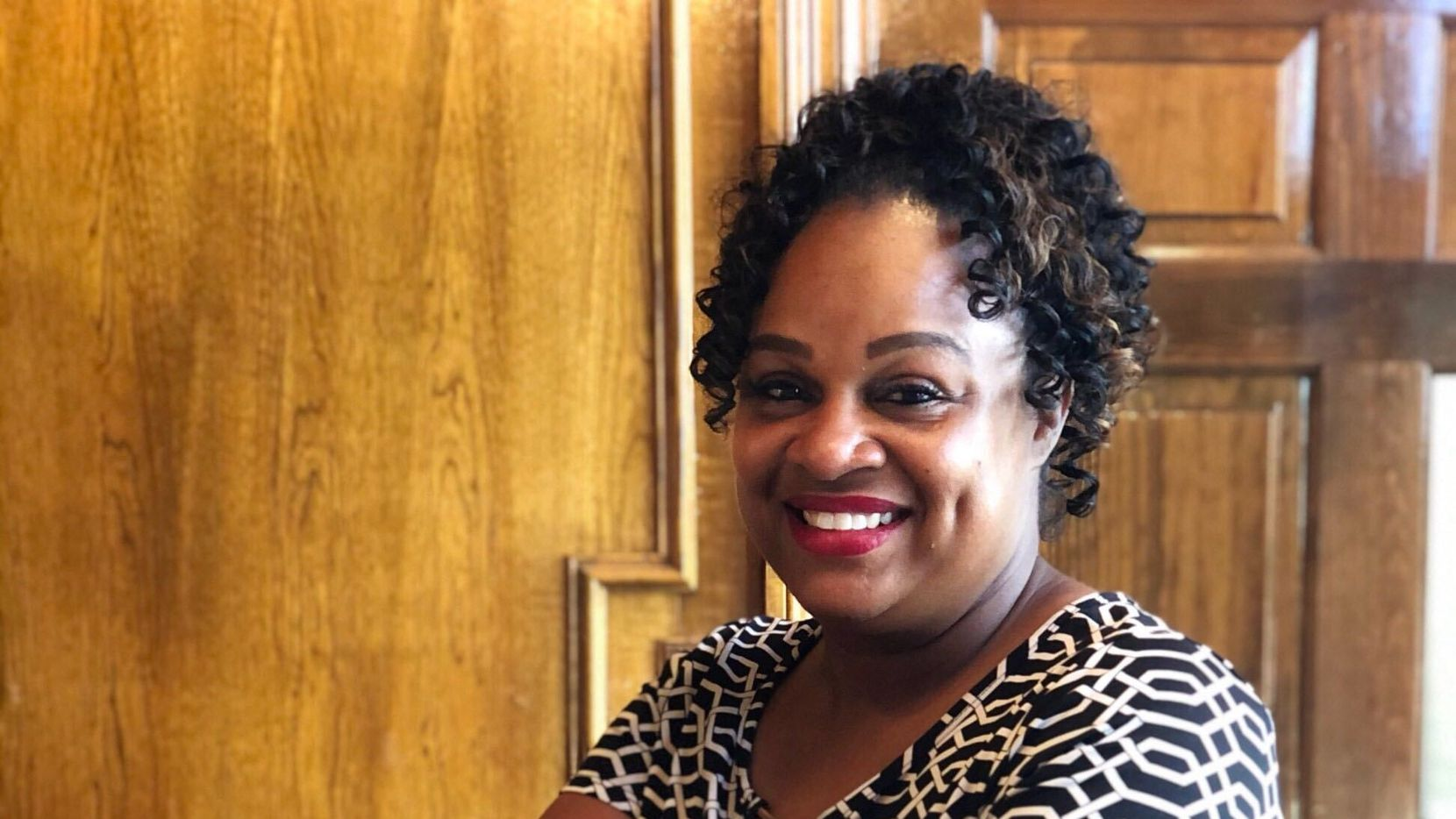 Vanessa Sterling is the new president and CEO of the DeSoto Chamber of Commerce.