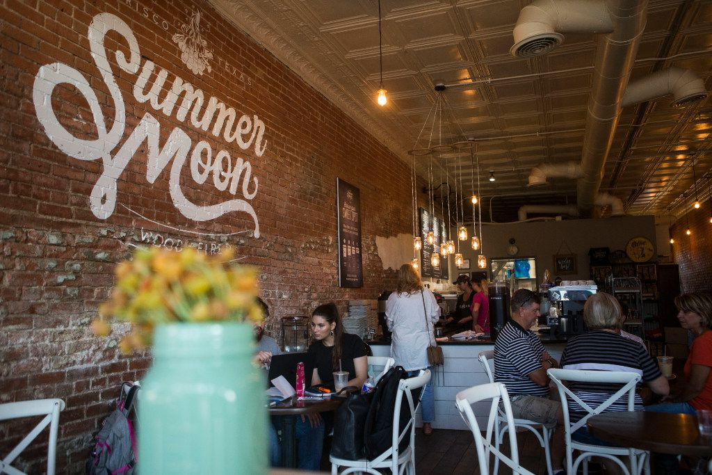 Summer Moon is a laid-back coffee spot.