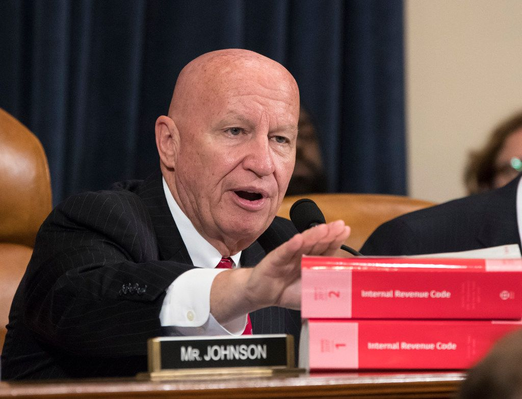 House Ways and Means Committee Chairman Kevin Brady, R-Texas, makes a statement as his panel begins the markup process of the GOP's far-reaching tax overhaul as members propose amendments and changes to shape the first major revamp of the tax system in three decades,