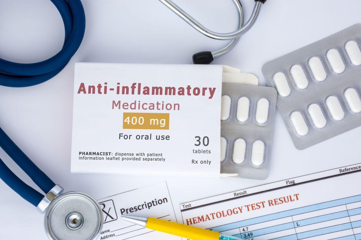 Medicamento anti inflamatorio.