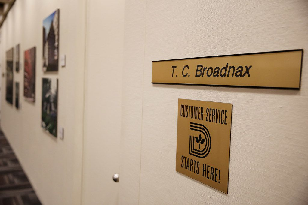 "Dallas City Manager T.C. Broadnax has made ""Service First"" one of his mantras."