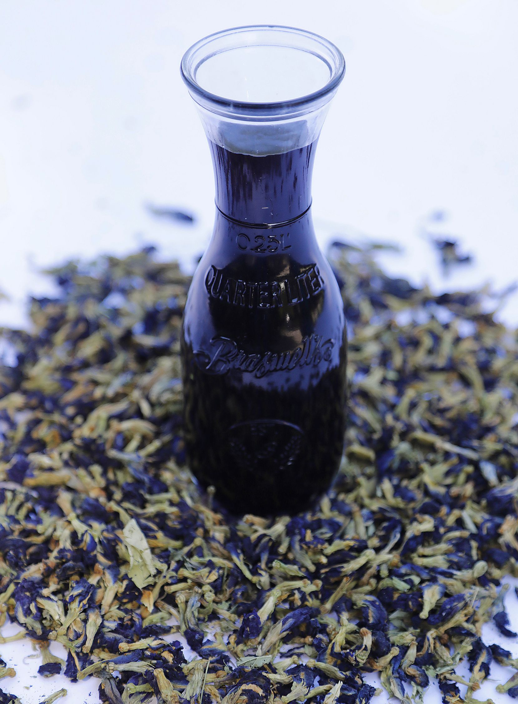 Butterfly Pea Simple Syrup
