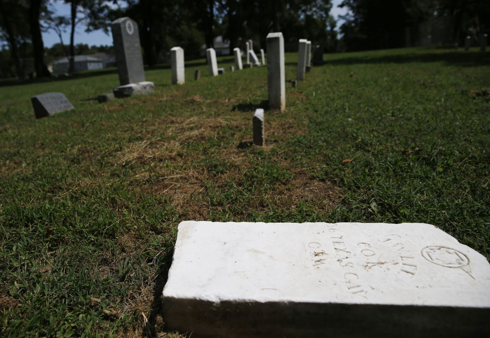 The Dallas chapter of the United Daughters of the Confederacy played a role in creating the Confederate Cemetery, records indicate.