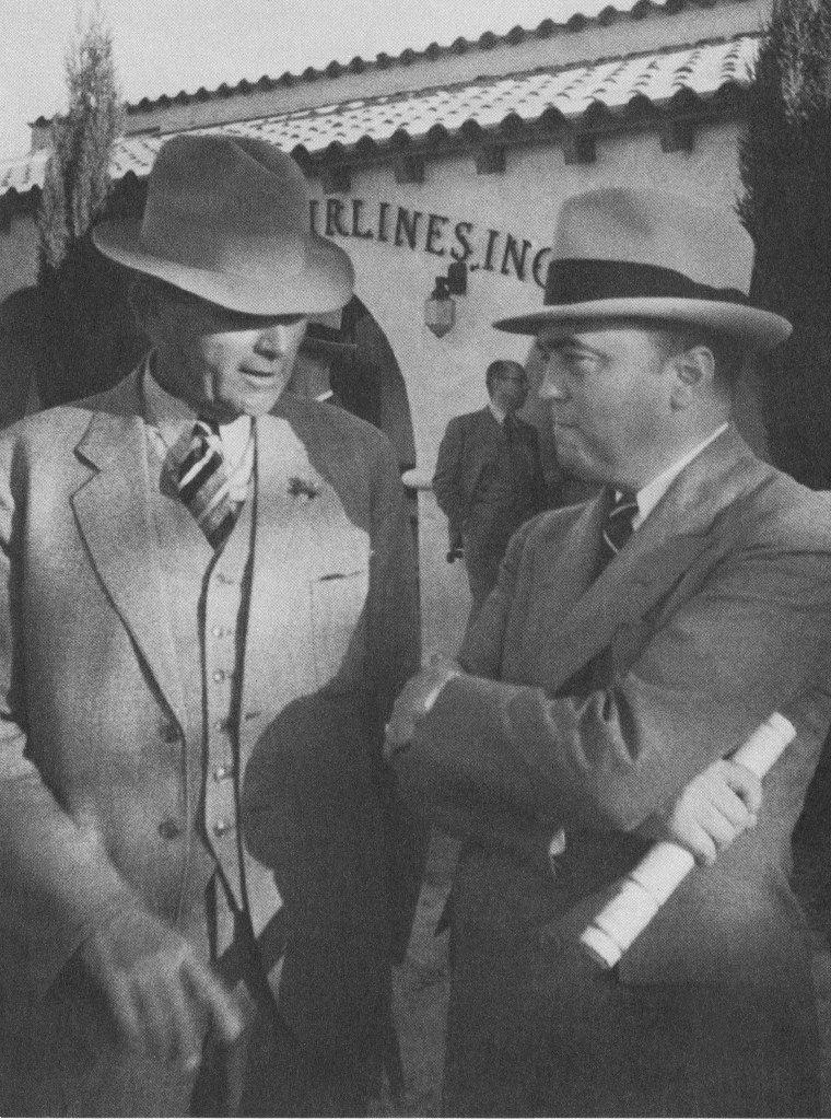 FBI Director J. Edgar Hoover tasked his Houston agent Tom White (left) with forming a team to investigate the Osage murders.