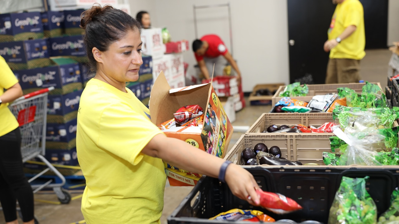 Frito-Lay employees volunteered in person for community impact programs in 2019. This year's campaign offered employees an opportunity to support the community virtually during COVID-19.