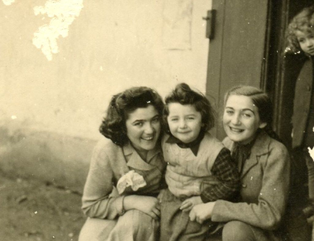 Claire Sternberg, Magda Sternberg, and their niece, Fritzi, who died in Auschwitz. Fritzi was three years old. (Provided by Naomi Martin / Staff)