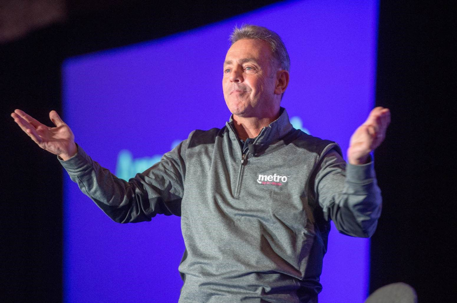 Metro by T-Mobile President Tom Keys at the company's launch of its new brand.