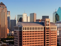 CBRE's headquarters will now be located in the 2100 McKinney tower in Dallas' Uptown district.