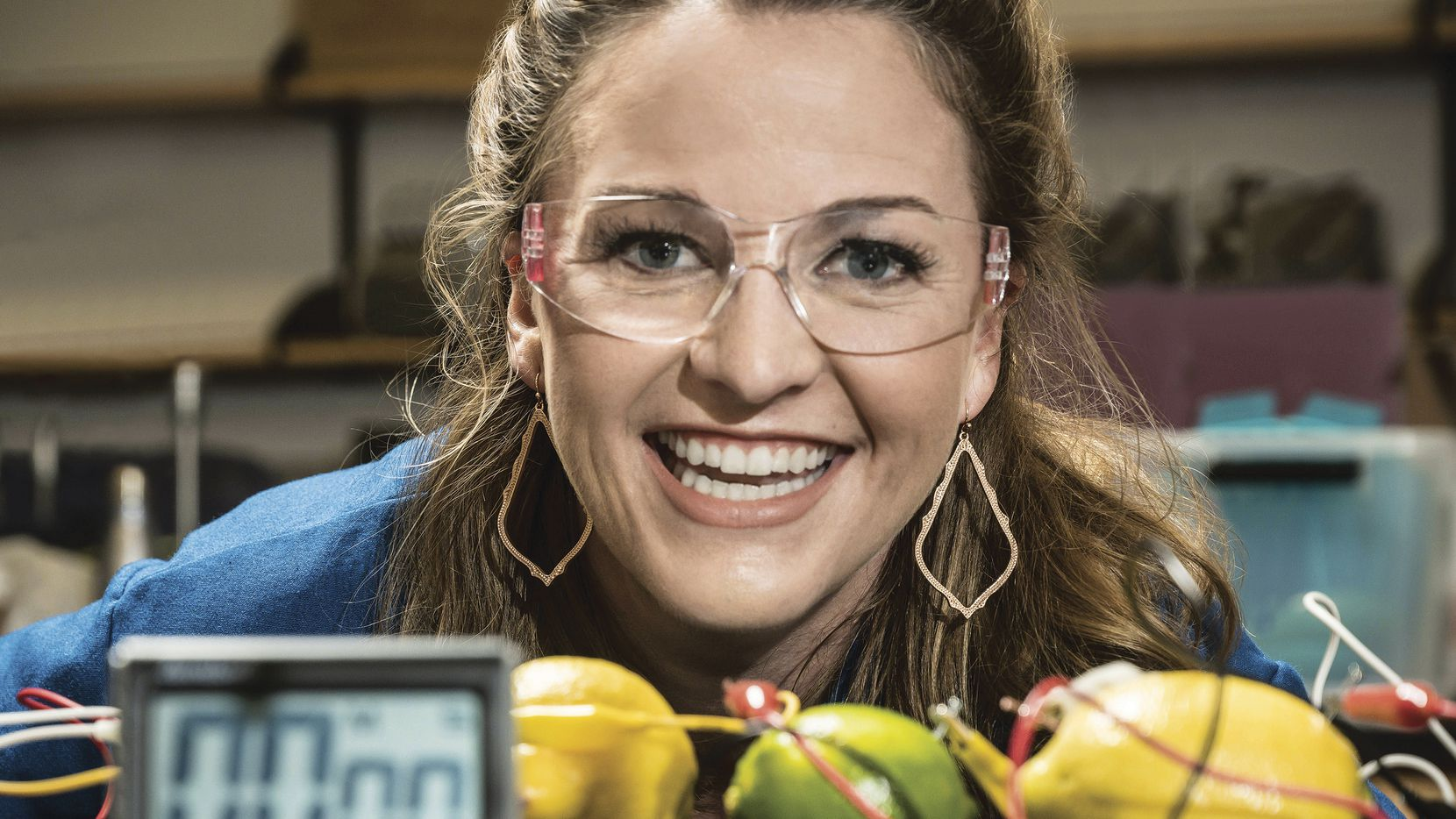 "Kate Biberdorf, a.k.a. Kate the Chemist, has appeared on ""Today"" and other TV shows to promote science education, and she has a pair of books aimed at young readers."