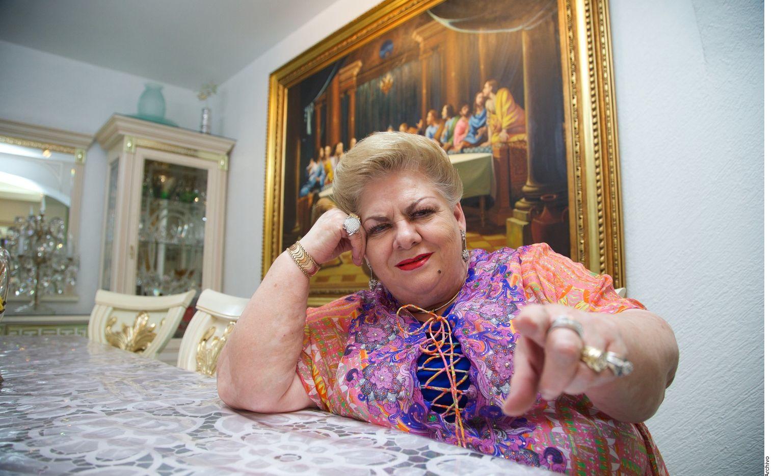 Paquita la del Barrio es precandidata del Movimiento Ciudadano (MC) a una diputación local en Veracruz.