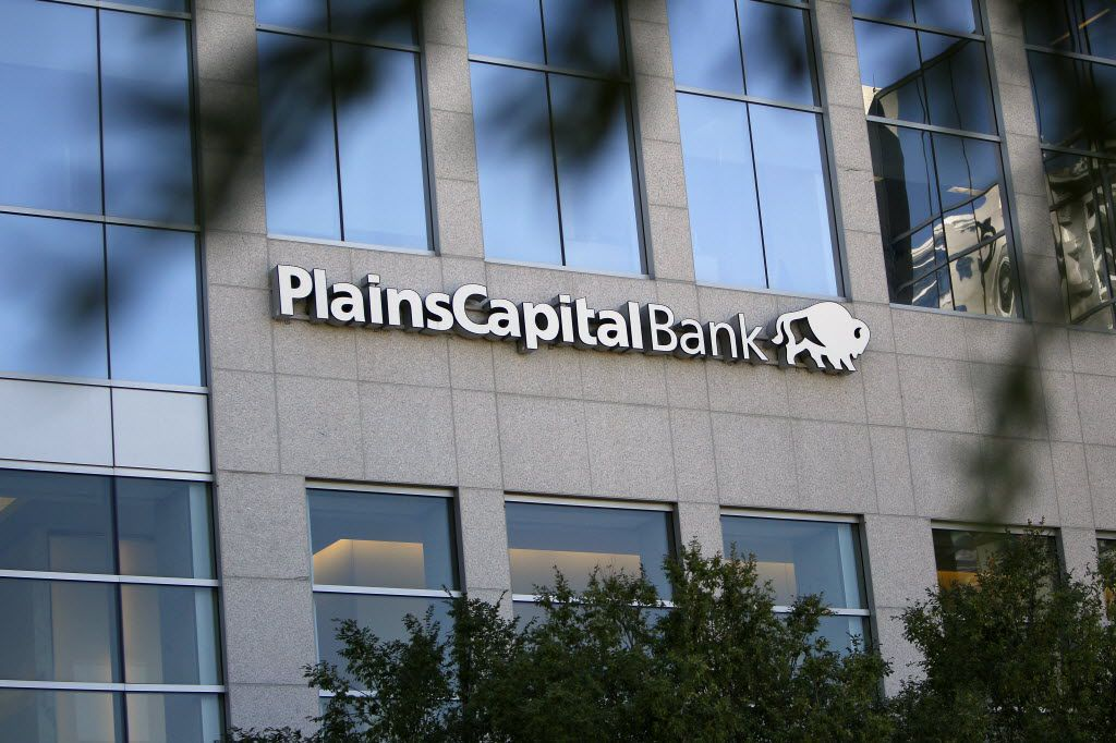 PlainsCapital Building on Victory Avenue in Dallas