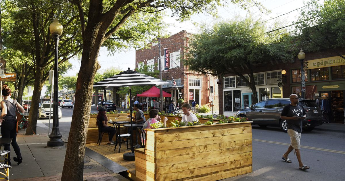 Right now, we have the perfect chance to reimagine our streets and parking lots. Let's seize it