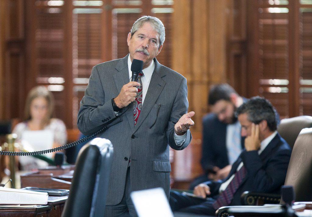 Sen. Larry Taylor, R-Friendswood, authored the Senate's school finance plan.