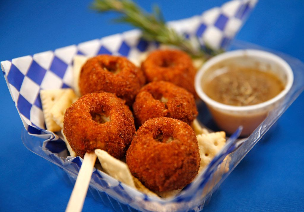 Deep-Fried Chicken Noodle Soup on a Stick by Sherry and Chris Howard