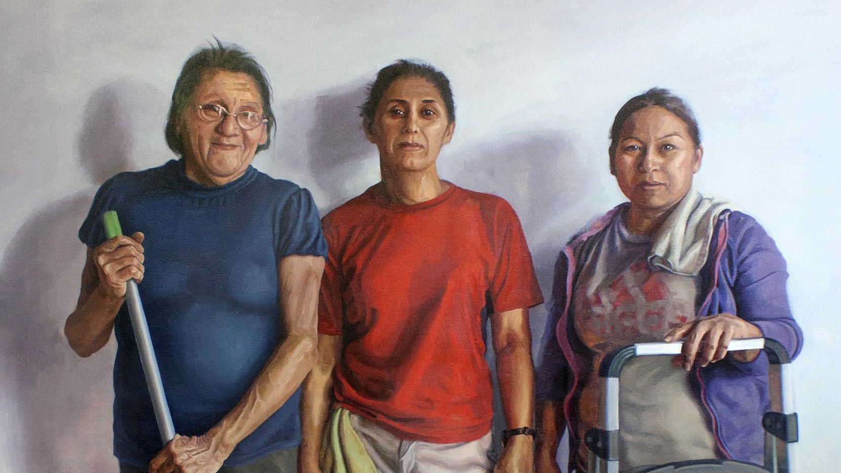 Arely Morales, 'Una por Una (One by One),' 2019, oil on canvas at Arely Morales Paintings at Talley Dunn Gallery