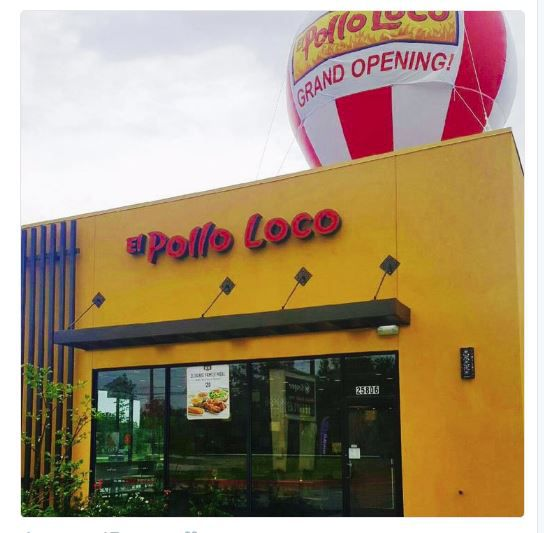 California-based El Pollo Loco is increasingly adding to its Texas store count, including a recent opening near Houston. Photo Courtesy: El Pollo Loco