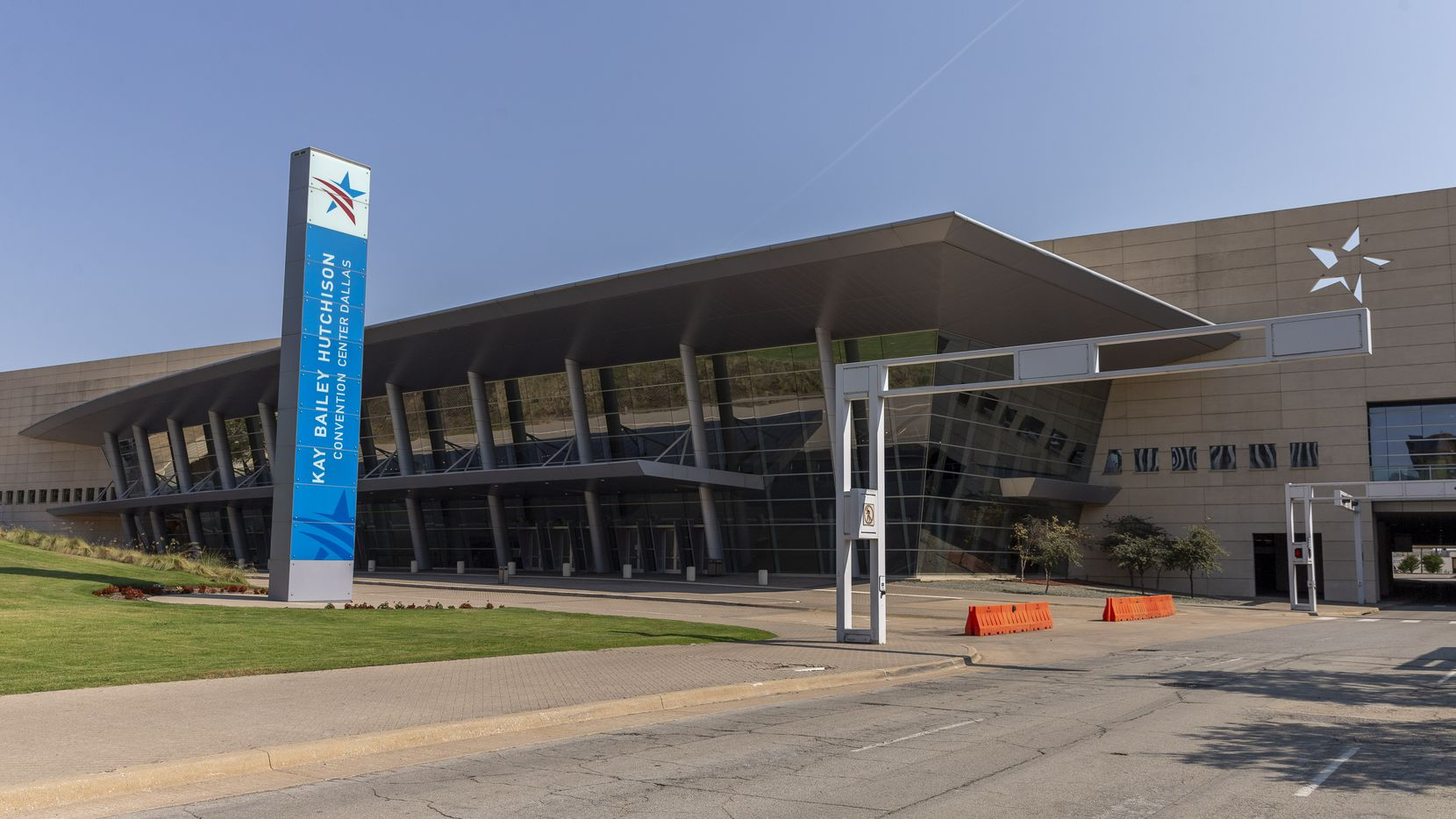 """Among the deficiencies cited in the master planning is the absence of a """"signature entrance"""" at the Kay Bailey Hutchison Convention Center."""