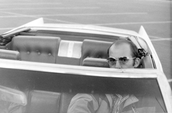 Hunter S. Thompson in 'Gonzo: The Life & Work on Dr. Hunter S. Thompson,' a Magnolia Pictures release. (Magnolia Pictures photo)