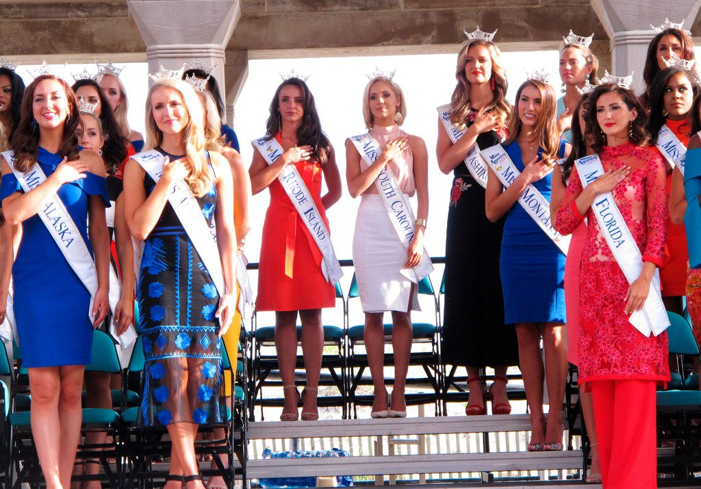 The Miss America Organization announced it has installed women in the organization's three top leadership posts fafter an email scandal last winter involving male leaders. It also said it will no longer include the swimsuit competition as part of the pageant.