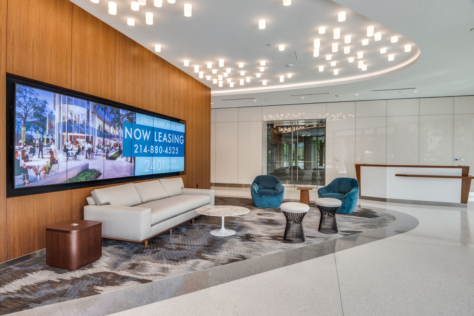 The 2401 Cedar Springs office building in Dallas' Uptown district was renovated by Crescent Real Estate. JLL is taking about half of the building.