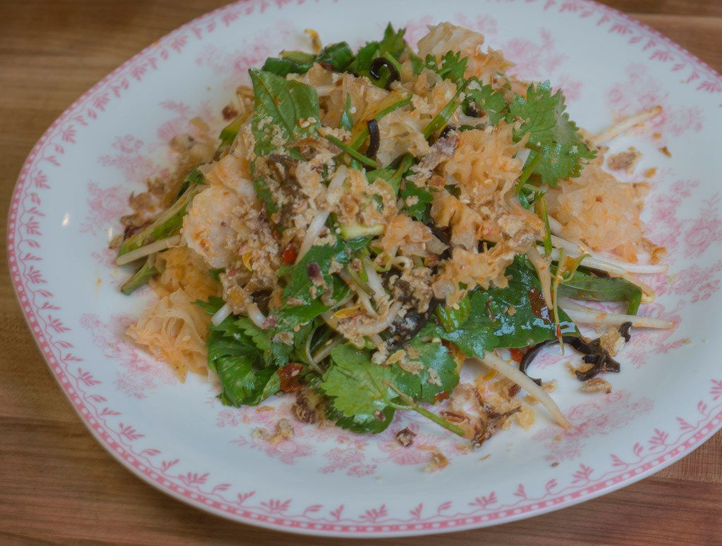 Kirstyn Brewer's White Cloud salad at Gung Ho restaurant on Greenville Avenue, which is scheduled to open in mid-February on December 14, 2017 in Dallas, Texas.  (Robert W. Hart/Special Contributor)