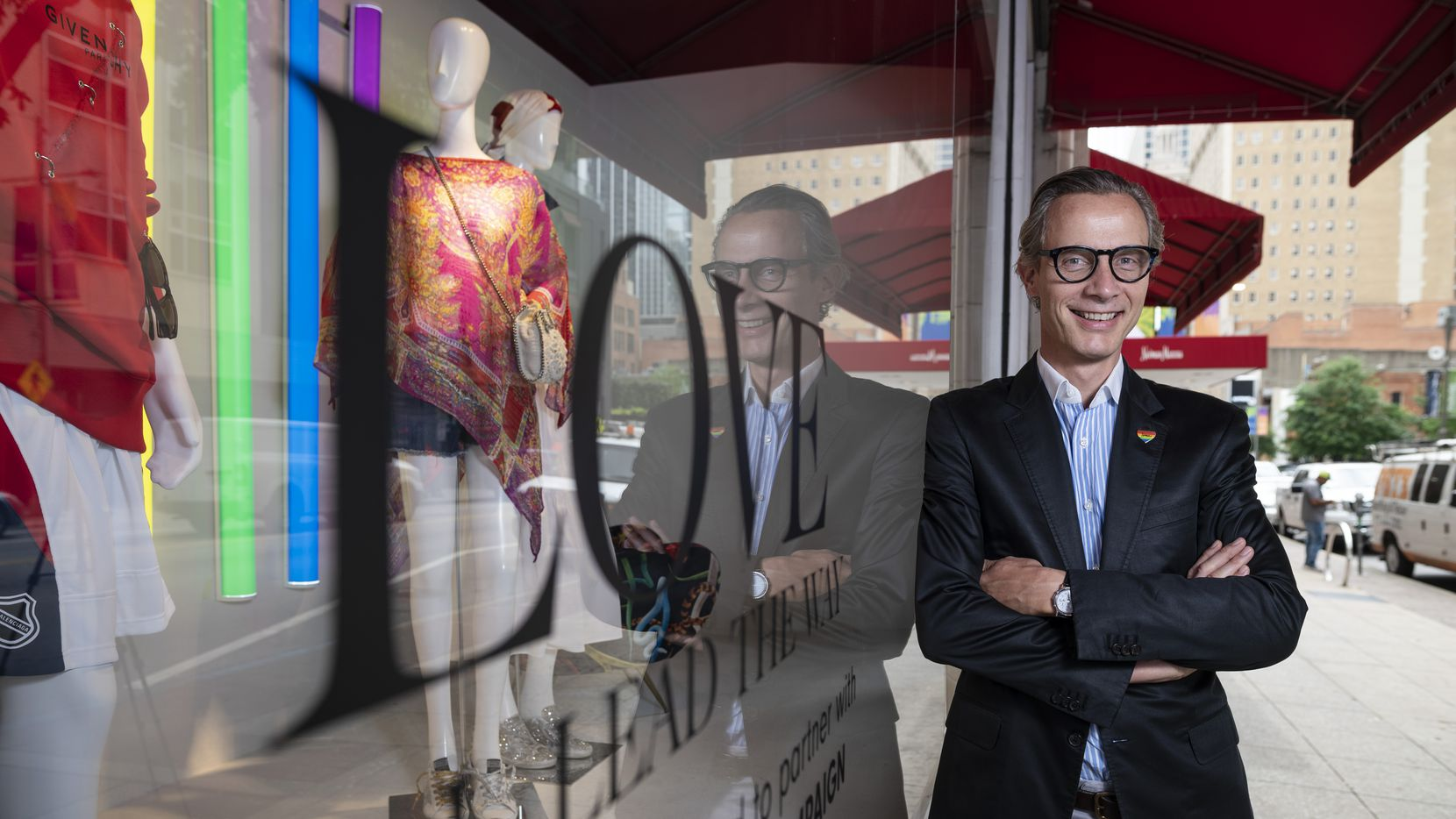 Geoffroy van Raemdonck, chief executive officer of Neiman Marcus Group.