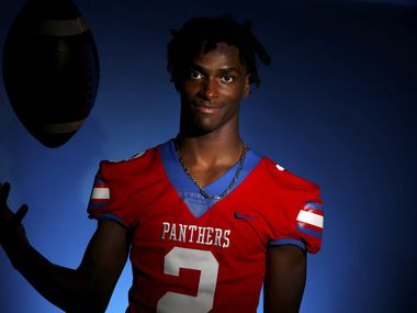 Duncanville senior cornerback Ennis Rakestraw Jr. poses for a photograph Friday, Jan. 3, 2020 at The Dallas Morning News. (Ryan Michalesko/The Dallas Morning News)