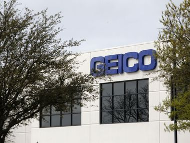 Geico's regional office on N. Greenville Ave. in Richardson.