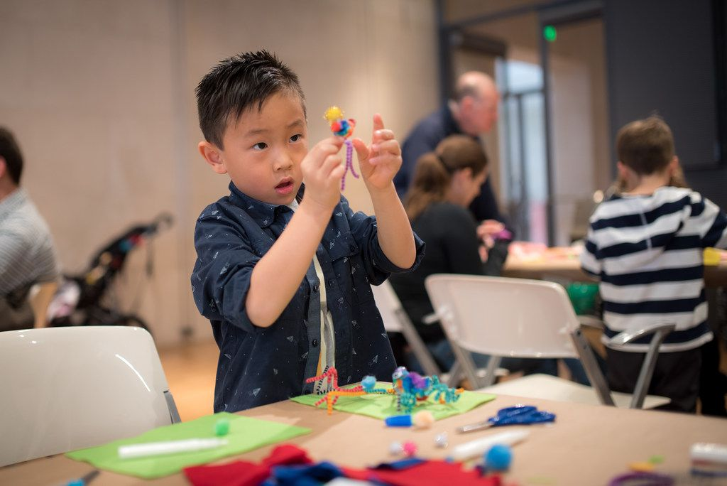 The Nasher Sculpture Center offers free admission and special activities every first Saturday of the month in the series called Free First Saturday. (Photo by Bret Redman)