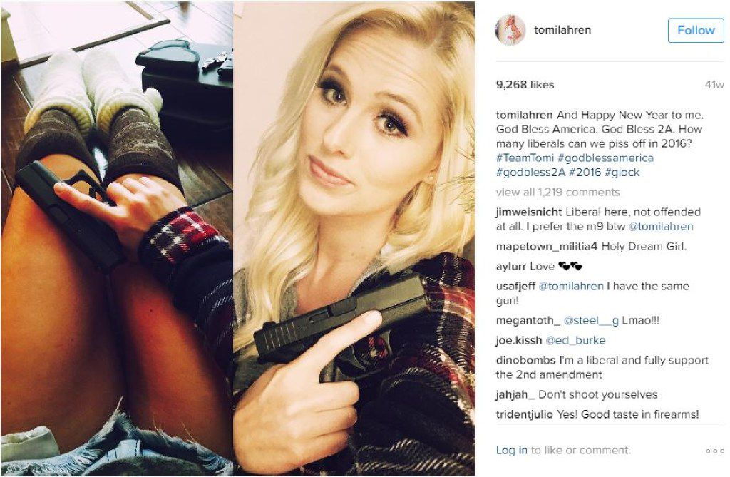 Tomi Lahren, 24, was a rising conservative pundit at The Blaze, which is based in Irving. (Courtesy of her Instagram page, @TomiLahren)