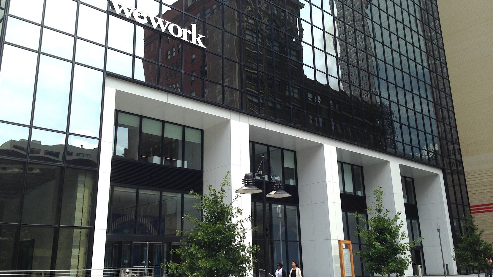 WeWork has more than a half million square feet of offices in the Dallas area, including in Thanksgiving Tower in downtown Dallas.