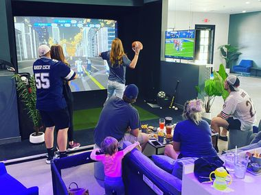 Crush It Virtual Sports Lounge, a multi-sport simulator venue in Grapevine, has been in business for nearly a year.