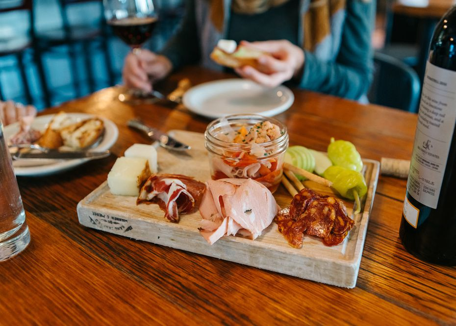 Bin 22 in Jackson Hole, Wyo., offers Tuscan-esque small plates and plenty of drink options.