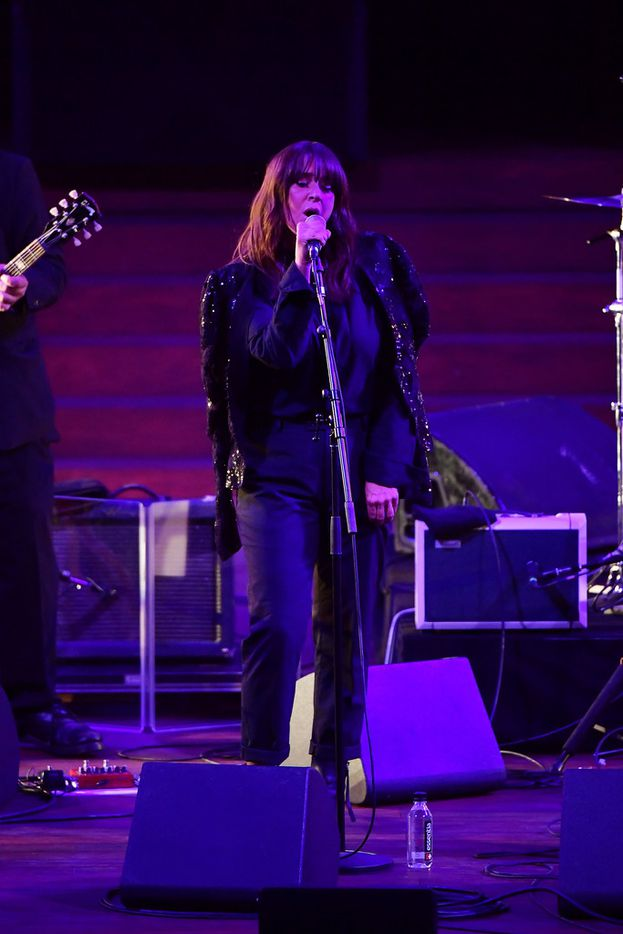 Cat Power performs onstage during the LA Film Festival opening night premiere of Echo In The Canyon at John Anson Ford Amphitheatre on September 20, 2018 in Hollywood, California.