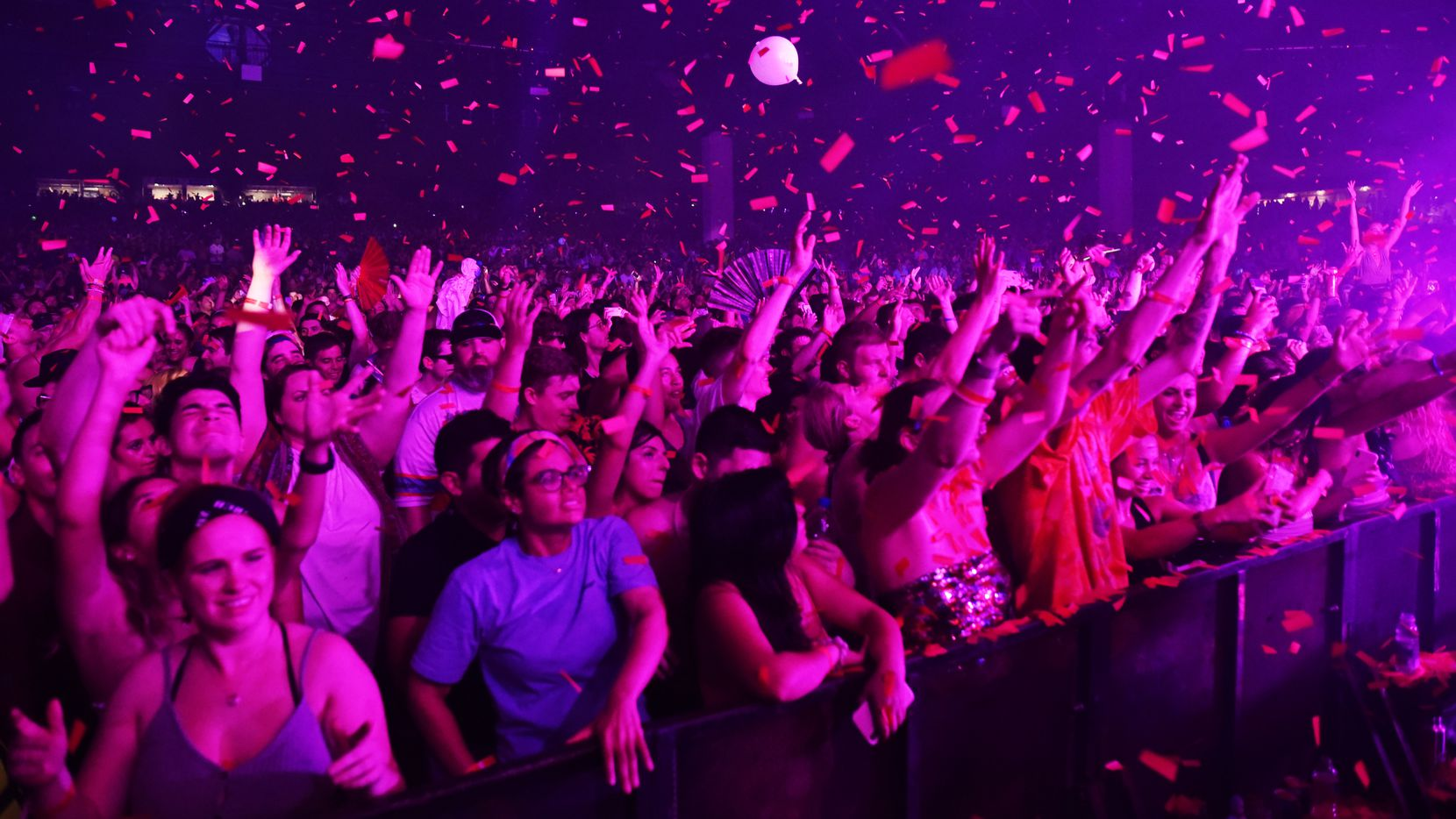 Fans enjoyed Odesza's performance at the Camp Nowhere concert tour at Dos Equis Pavilion in Dallas on June 22, 2019. The mini-festival returns to the venue on June 20.