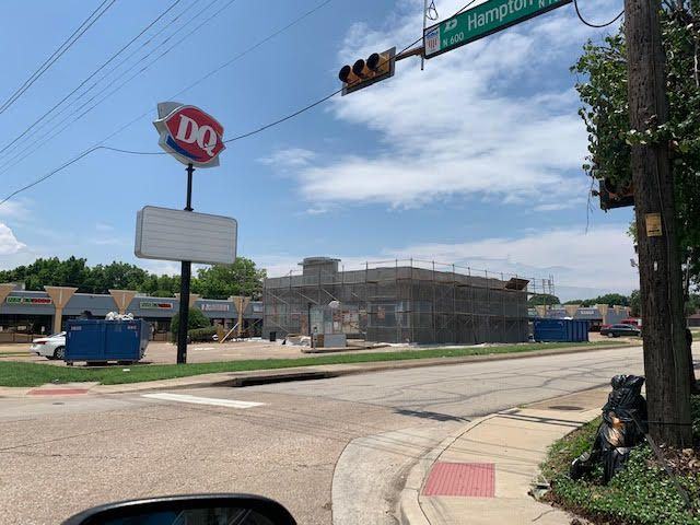 The owners of this Dairy Queen in DeSoto have been awarded a grant to improve the building's facade.