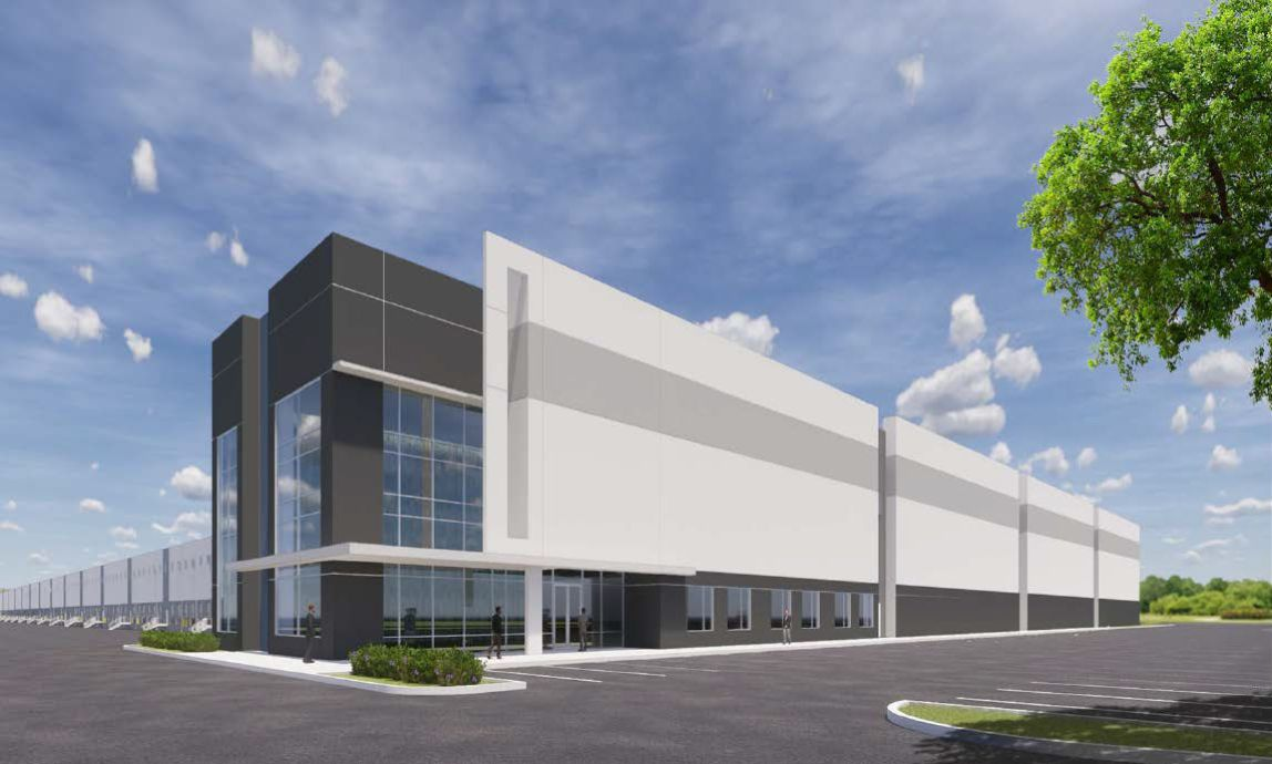 The Turnpike North Logistics Center will have two new industrial buildings.