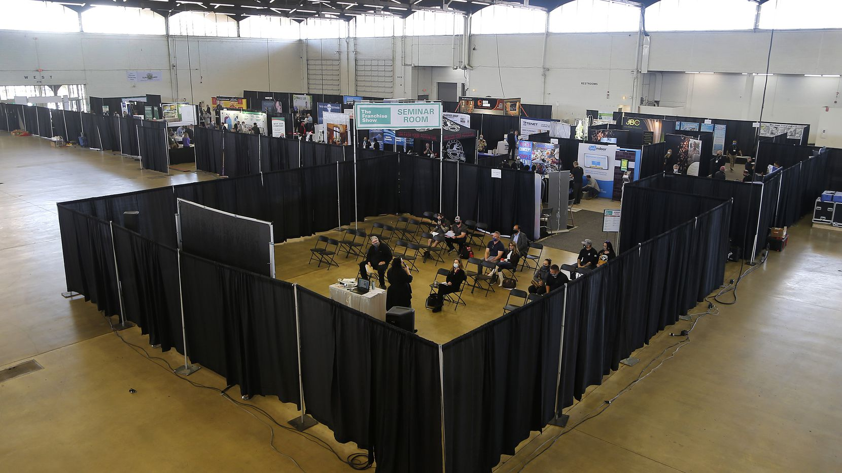 The Franchise Show is a conference for local entrepeneurs interested in starting their own franchise business in North Texas being held at the Dallas Market Hall in Dallas on Saturday, March 20, 2021.  (Stewart F. House/Special Contributor)
