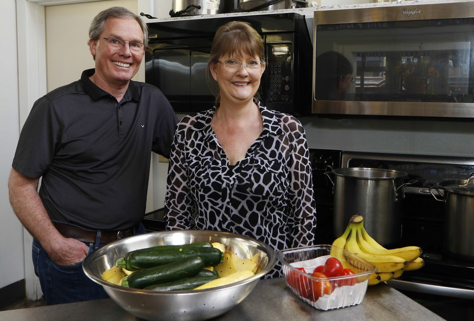 Rob and Deb Sorich run Central Perks, a café in downtown Marshall that serves lunch fare. Most of their business comes from locals, but they have gotten a bounce from law firms who order catering.