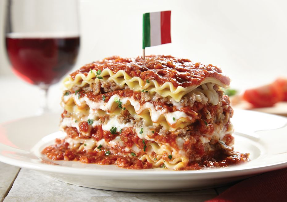"""Spaghetti Warehouse calls its 15-layer lasagne """"our all-time guest favorite"""" on the menu. It's one of the best-sellers at the restaurant."""