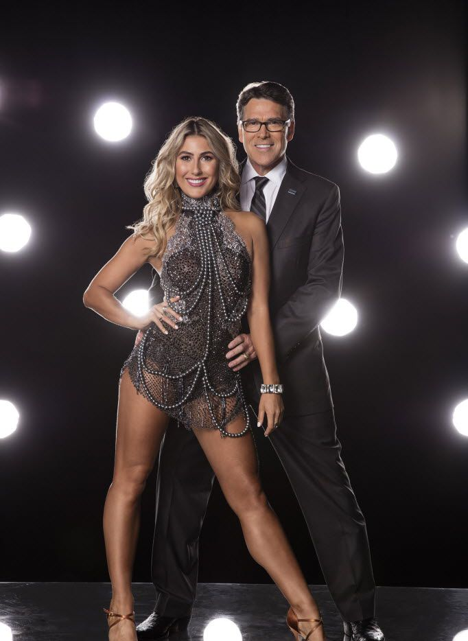 Former Texas Gov. Rick Perry will pair with Emma Slater on Dancing with the Stars, which starts its new season on Sept. 12.